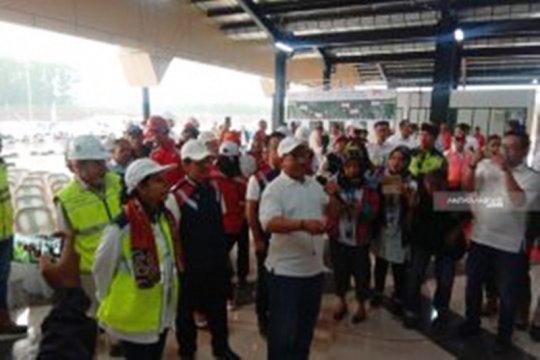 Menteri BUMN targetkan ruas tol Lampung-Palembang rampung September