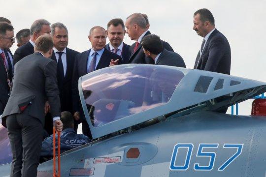Rusia, Turki bahas pasokan pesawat tempur Rusia