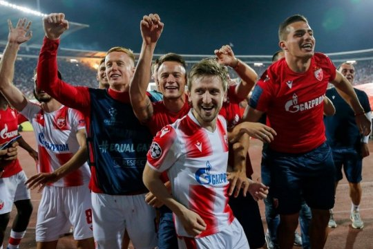 Red Star ungguli agregat Young Boys demi pastikan fase grup Champions