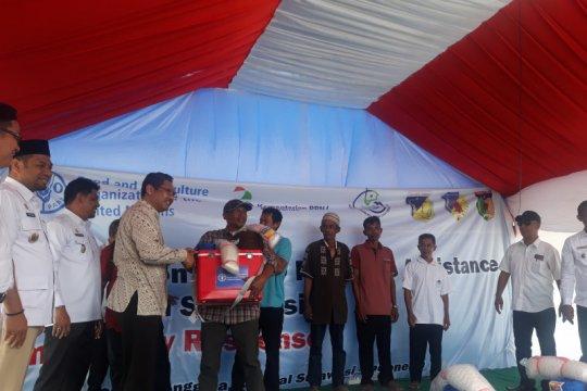 FAO bantu pulihkan nelayan Donggala dan Palu setelah tsunami