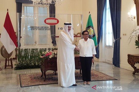 Menlu RI, Sekjen GCC bahas isu Palestina