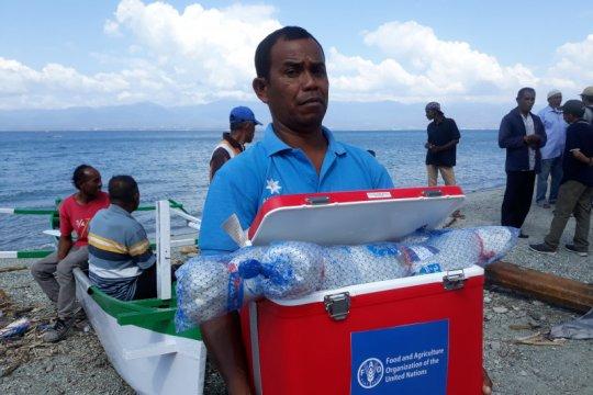 Nelayan Palu-Donggala mulai melaut setelah terima bantuan dari FAO