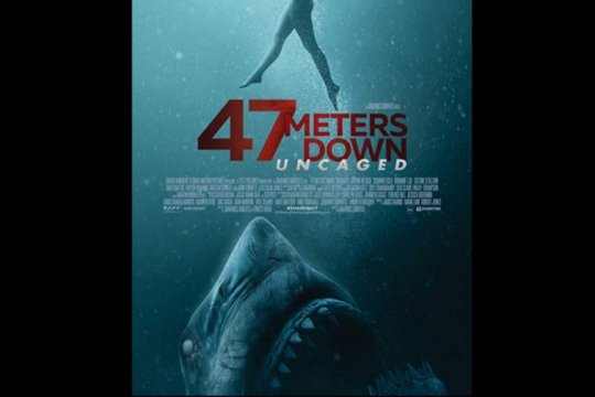 """Satu setengah jam berkejaran dengan hiu dalam """"47 Meters Down"""""""