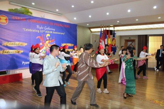 Tari Piring dan Poco-Poco pikat masyarakat ASEAN di Pyongyang