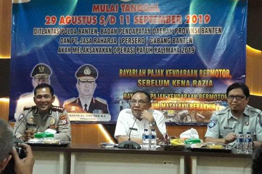Bapenda Banten sasar penunggak pajak pada Operasi Patuh Kalimaya 2019