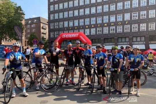 Dubes promosi Indonesia sambil bersepeda di Hamburg
