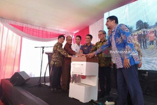 Menteri Edhy lihat pembangunan pasar ikan modern di Palembang