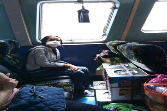 TKI Sumut Meimeris dipulangkan dari Penang Malaysia dengan kapal laut