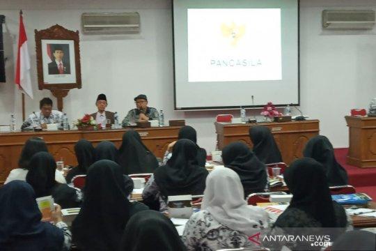 Anggota MPR sosialisasikan empat pilar kebangsaan kepada PGRI Bantul