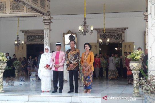 Raja Malaysia bertemu Sultan HB X di Keraton Yogyakarta
