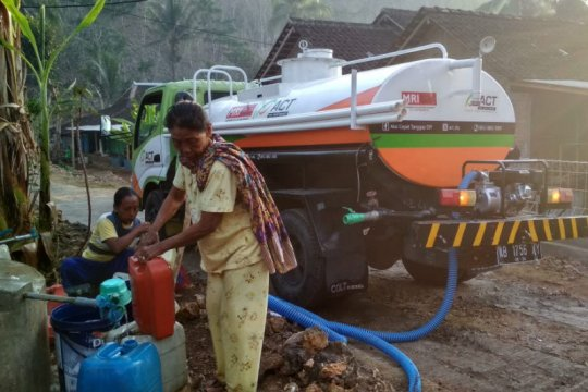ACT DIY gencarkan distribusi air bersih ke Gunung Kidul