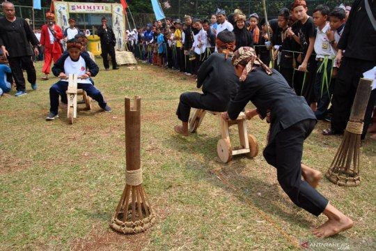 Permainan tradisional meriahkan Pekan Kebudayaan Nasional