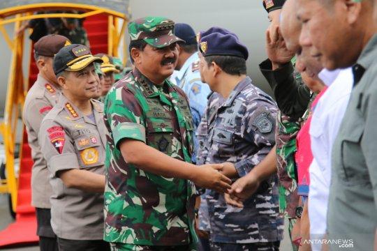 Panglima TNI dan Kapolri kunjungi Mimika