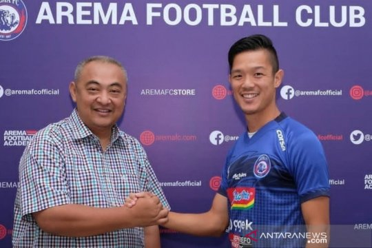 Perkuat tim, Arema FC rekrut gelandang asal Jepang