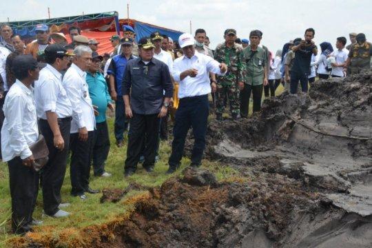 Ogan Komering Ilir kejar target produksi 1,3 juta ton padi