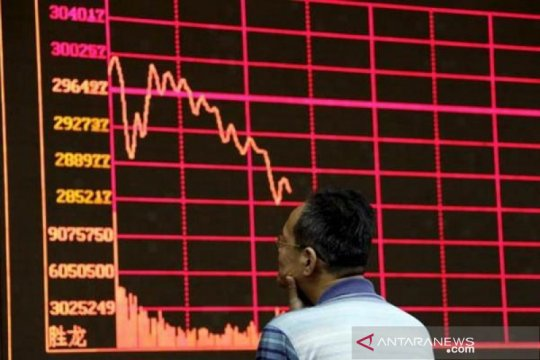 Saham China akhir pekan merosot, dipicu aktivitas pabrik yang melambat