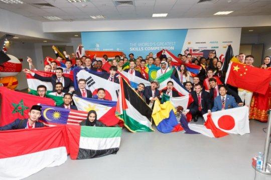 Siswa SMK boyong 15 medali pada World Skill Competition