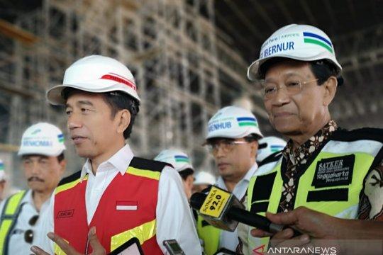 Sultan harap Jokowi datang lagi ke Bandara Yogyakarta, ini alasannya