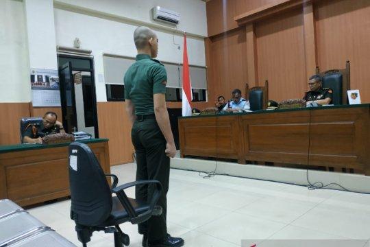 Oknum TNI akui khilaf membunuh kasir minimarket di Palembang