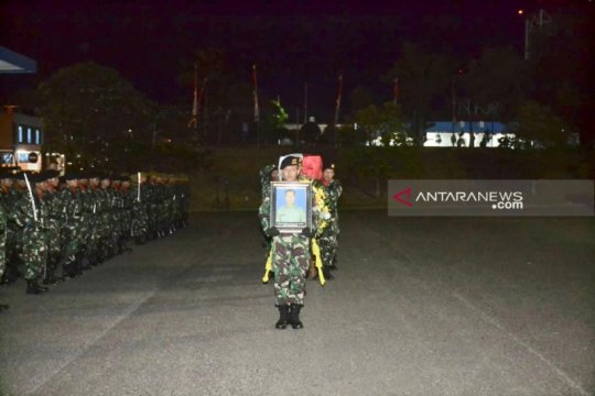 Kasdam Sriwijaya sambut jenazah prajurit gugur di Papua
