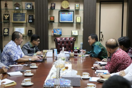 KPK bersama Gubernur Lampung segera selesaikan tiga agenda prioritas