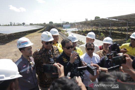 Menteri ESDM tinjau tiga PLTS di Lombok