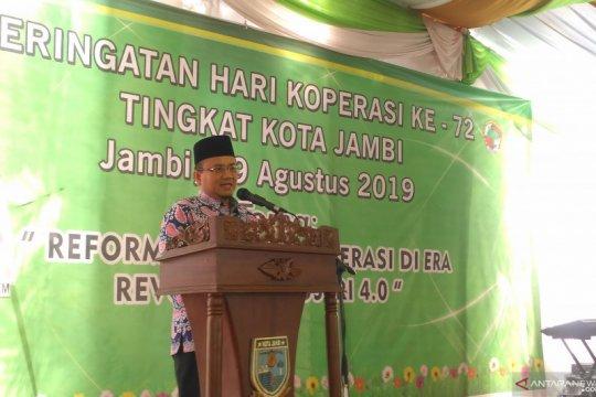 Pemkot Jambi dorong koperasi adaptasi dengan era revolusi industri 4.0