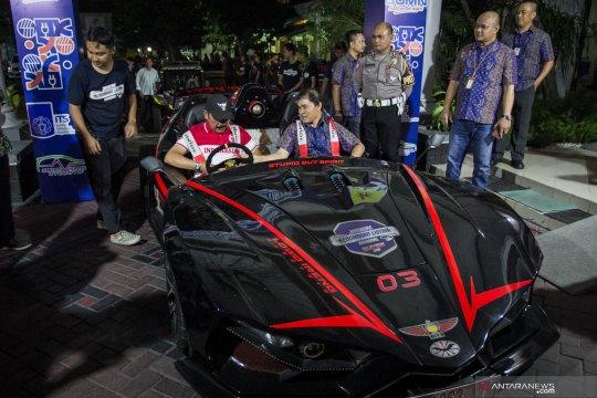 Jambore mobil listrik singgah di Solo