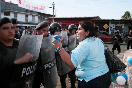 Para ibu pelaku mogok makan di Nikaragua dilarikan ke RS