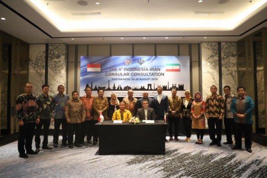 Indonesia-Iran bahas upaya perlindungan warga negara