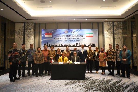 Indonesia-Iran berupaya perkuat hubungan udara