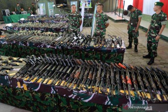 KSAD apresiasi masyarakat Aceh serahkan senjata secara sukarela