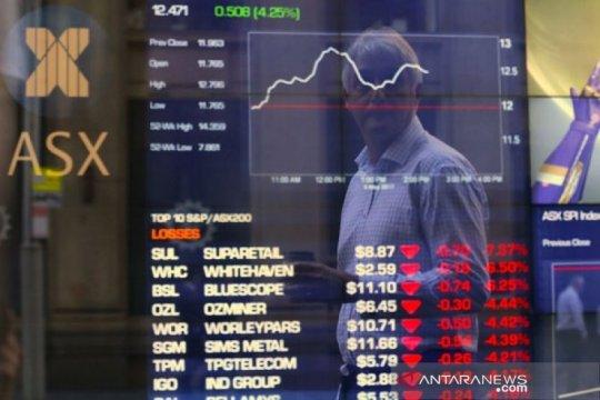 Bursa saham Australia dibuka lebih rendah terseret sektor perbankan