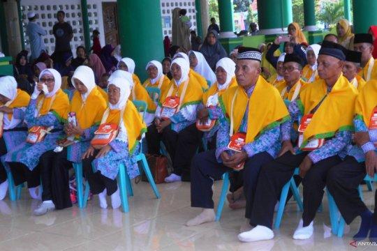 52 jemaah haji Biak Numfor pulang kembali ke tanah air