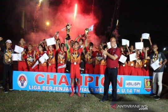 Tim Jawa Tengah juarai Liga U-14 Piala Menpora