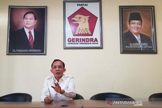 Ketua Gerindra Kota Semarang mengaku belum terima surat pemecatan
