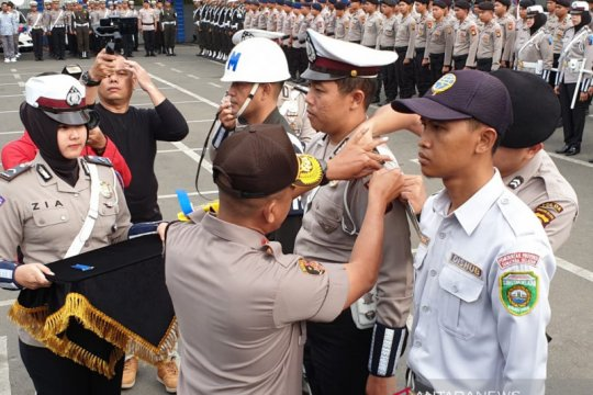 Polda Sumsel gelar pasukan Operasi Patuh Musi