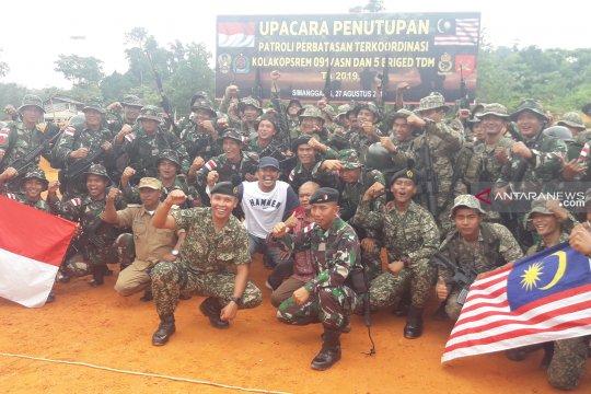 Ada empat pos gabungan bersama Pamtas Indonesia-Malaysia di Nunukan