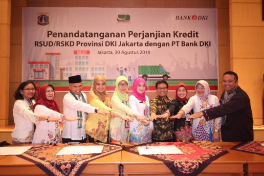 Bank DKI siapkan kredit Rp93 miliar bagi enam RSUD DKI
