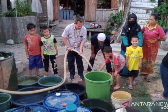 ACT Sumsel-Pelindo II kembali distribusikan 105.000 liter air bersih