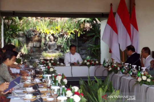 Presiden gelar ratas di Magelang bahas destinasi wisata