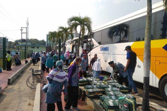 2.045 jamaah haji asal Lampung sudah kembali