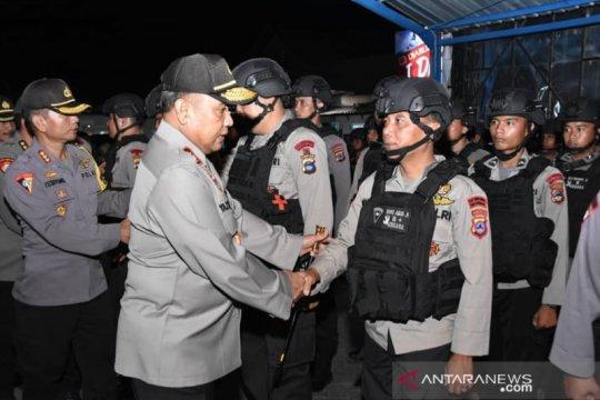 Papua Terkini- 250 Brimob Kalsel pertebal kekuatan di Papua