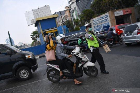 Hari kedua Ops Patuh Jaya 2019, angka pelanggaran roda dua melonjak