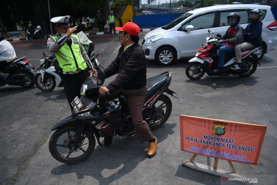 8.685 kendaraan ditilang di hari keenam Operasi Patuh Jaya 2019