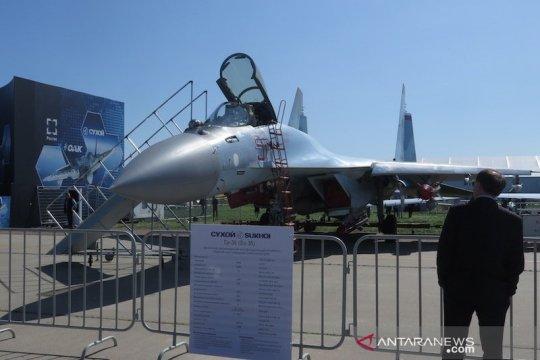 Mahfud rapat bareng Prabowo soal pengadaan Sukhoi Su-35
