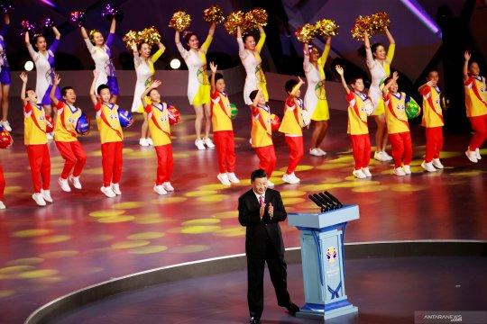 Presiden Xi Jinping resmikan pembukaan Piala Dunia Bola Basket 2019