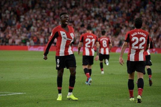 Tekuk Sociedad 2-0, Bilbao rasakan puncak klasemen