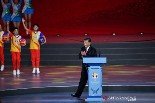 Presiden Xi Jinping buka Piala Dunia FIBA 2019