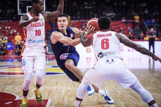 Bogdanovic pimpin Serbia lumat Angola 105-59 dalam laga pembuka